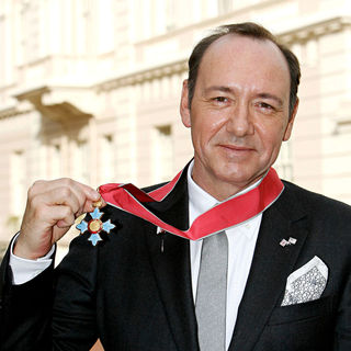 Kevin Spacey has been Made An Honorary Commander of The Order of The British Empire (CBE)