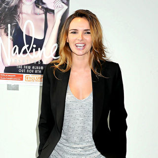 Nadine Coyle in Nadine Coyle at The Launch of Her New Album 'Insatiable'