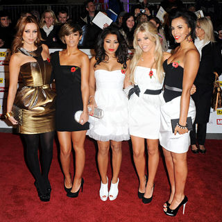 The Saturdays in Pride of Britain Awards - Arrivals