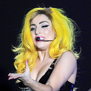 Lady GaGa - Lady GaGa Performs at Palaolympic
