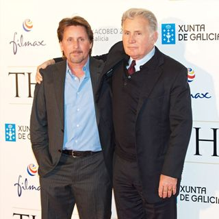 Emilio Estevez, Martin Sheen in 'The Way' Premiere