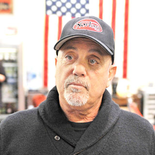Billy Joel in Billy Joel's Grand Opening of His Motorcyle Showroom '20th Century Cycles'