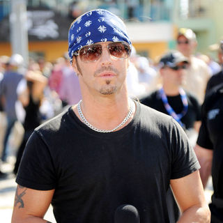 Bret Michaels in Bret Michaels Appears as The Grand Marshal for The Ford 400 Nascar Race