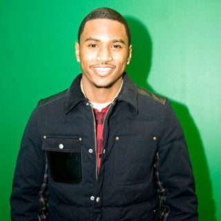 Trey Songz Is Seen at WGCI Coca Cola Lounge Just Before His Performance - wenn5580355