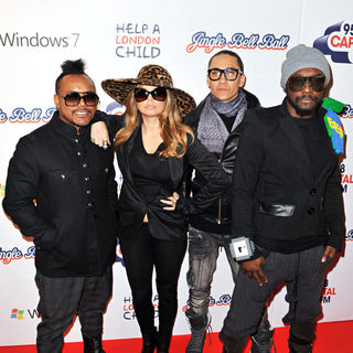 Black Eyed Peas in Jingle Bell Ball at The O2 Arena
