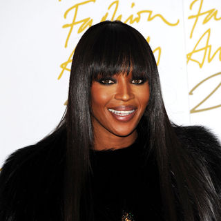 Naomi Campbell in The British Fashion Awards 2010 - Arrivals