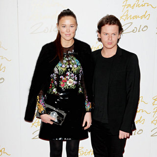 Tammy Kane, Christopher Kane in The British Fashion Awards 2010 - Arrivals