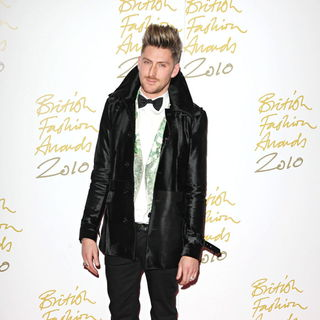 Henry Holland in The British Fashion Awards 2010 - Arrivals