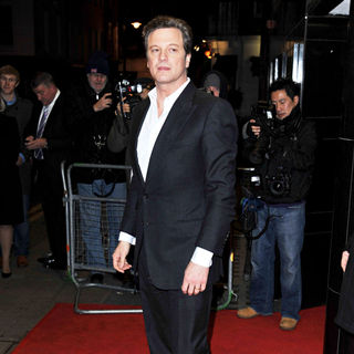 Colin Firth - 'The King's Speech' Charity Screening - Arrivals