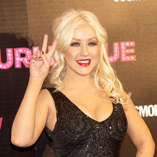 Christina Aguilera in The 'Burlesque' Premiere