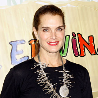 Brooke Shields in The Opening Night of The Musical 'Dear Edwina'