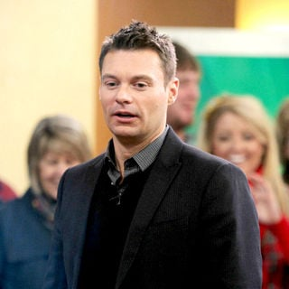Ryan Seacrest in Ryan Seacrest at ABC Studios to Promote Dick Clark's New Year's Rockin' Eve 2011