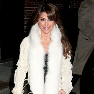 Paula Abdul in Paula Abdul Outside The Ed Sullivan Theater for 'The Late Show with David Letterman'