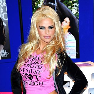 Katie Price in Katie Price Attends A Signing to Promote Her Clothing Lines