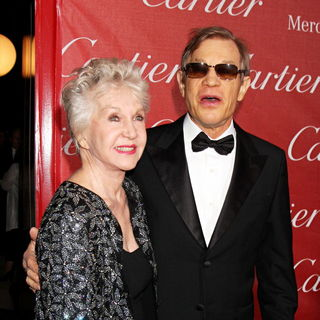 Patricia McCallum, Michael York in 2011 Palm Springs International Film Festival Awards Gala Presented by Cartier