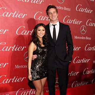 Brenda Song, Armie Hammer in 2011 Palm Springs International Film Festival Awards Gala Presented by Cartier