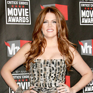 Khloe Kardashian in 16th Annual Critics' Choice Awards - Arrivals