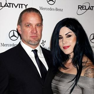 Jesse James, Kat Von D in Art Of Elysium's 4th Annual 'Heaven' Charity Gala - Arrivals