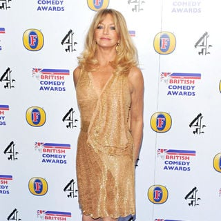 Goldie Hawn in British Comedy Awards 2010