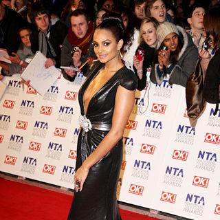 Alesha Dixon in The National Television Awards 2011 (NTA's) - Arrivals