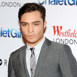 Ed Westwick in Chalet Girl - UK Film Premiere - Arrivals
