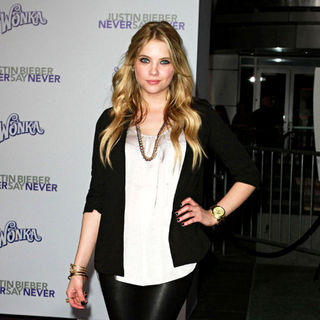 "Ashley Benson in Los Angeles Premiere of ""Justin Bieber: Never Say Never"""
