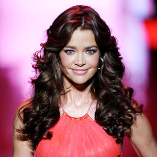 Denise Richards in Mercedes-Benz IMG New York Fashion Week Fall 2011 - The Heart Truth's Red Dress Collection - Runway