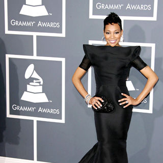 Monica in The 53rd Annual GRAMMY Awards - Red Carpet Arrivals