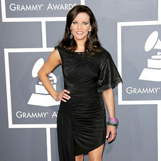 Martina McBride in The 53rd Annual GRAMMY Awards - Red Carpet Arrivals