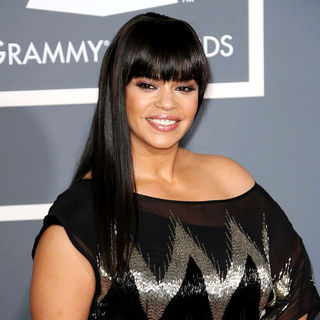 Faith Evans in The 53rd Annual GRAMMY Awards - Red Carpet Arrivals