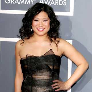Jenna Ushkowitz in The 53rd Annual GRAMMY Awards - Red Carpet Arrivals