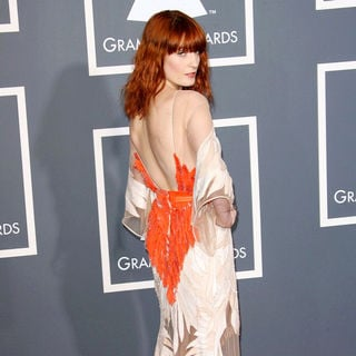Florence Welch in The 53rd Annual GRAMMY Awards - Red Carpet Arrivals