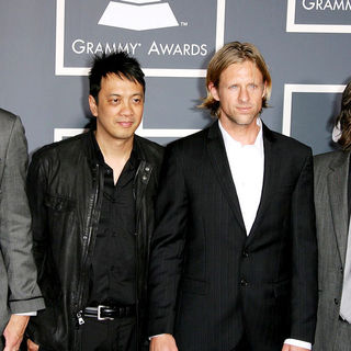 Switchfoot in The 53rd Annual GRAMMY Awards - Red Carpet Arrivals