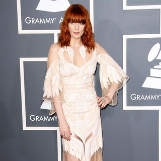 Florence and the Machine - The 53rd Annual GRAMMY Awards - Red Carpet Arrivals