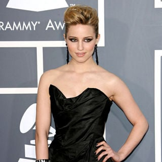 Dianna Agron in The 53rd Annual GRAMMY Awards - Red Carpet Arrivals