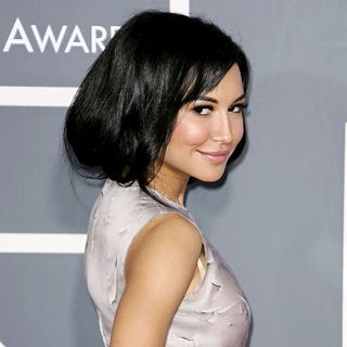 Naya Rivera in The 53rd Annual GRAMMY Awards - Red Carpet Arrivals