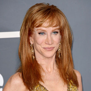 Kathy Griffin in The 53rd Annual GRAMMY Awards - Red Carpet Arrivals