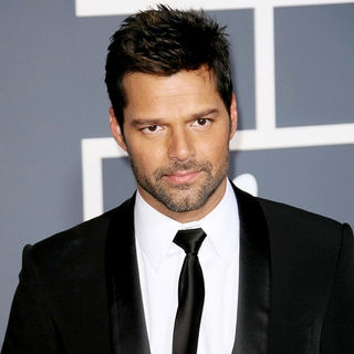 Ricky Martin in The 53rd Annual GRAMMY Awards - Red Carpet Arrivals