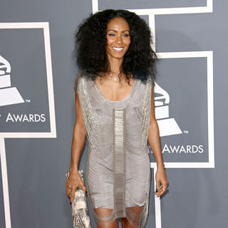 Jada Pinkett Smith in The 53rd Annual GRAMMY Awards - Red Carpet Arrivals