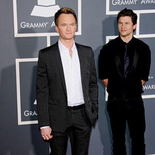 Neil Patrick Harris, David Burtka in The 53rd Annual GRAMMY Awards - Red Carpet Arrivals
