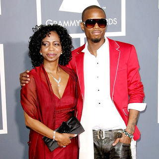 B.o.B in The 53rd Annual GRAMMY Awards - Red Carpet Arrivals