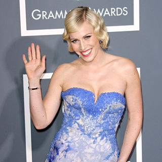 Natasha Bedingfield in The 53rd Annual GRAMMY Awards - Red Carpet Arrivals