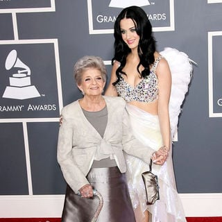 Katy Perry in The 53rd Annual GRAMMY Awards - Red Carpet Arrivals