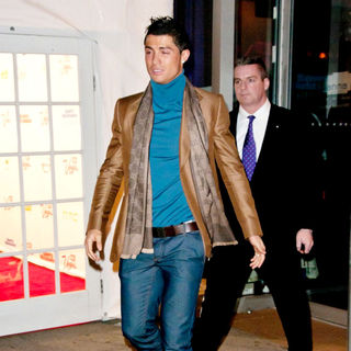 Cristiano Ronaldo in The 2011 Sports Illustrated Swimsuit Launch Party