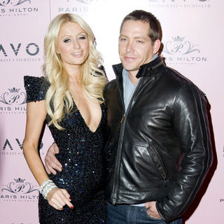 Paris Hilton, Cy Waits in Paris Hilton's 30th Birthday Party - Arrivals