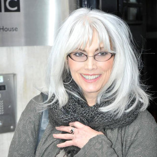 Emmylou Harris in Emmylou Harris Is Seen Outside BBC's Radio 2 Studios