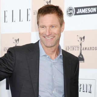 Aaron Eckhart in The 2011 Film Independent Spirit Awards - Arrivals