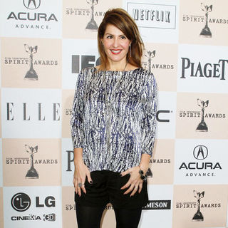 Nia Vardalos in The 2011 Film Independent Spirit Awards - Arrivals