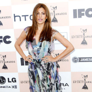 Eva Mendes in The 2011 Film Independent Spirit Awards - Arrivals