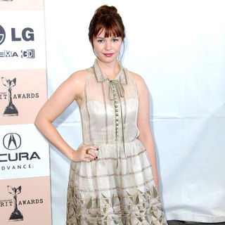 Amber Tamblyn in The 2011 Film Independent Spirit Awards - Arrivals